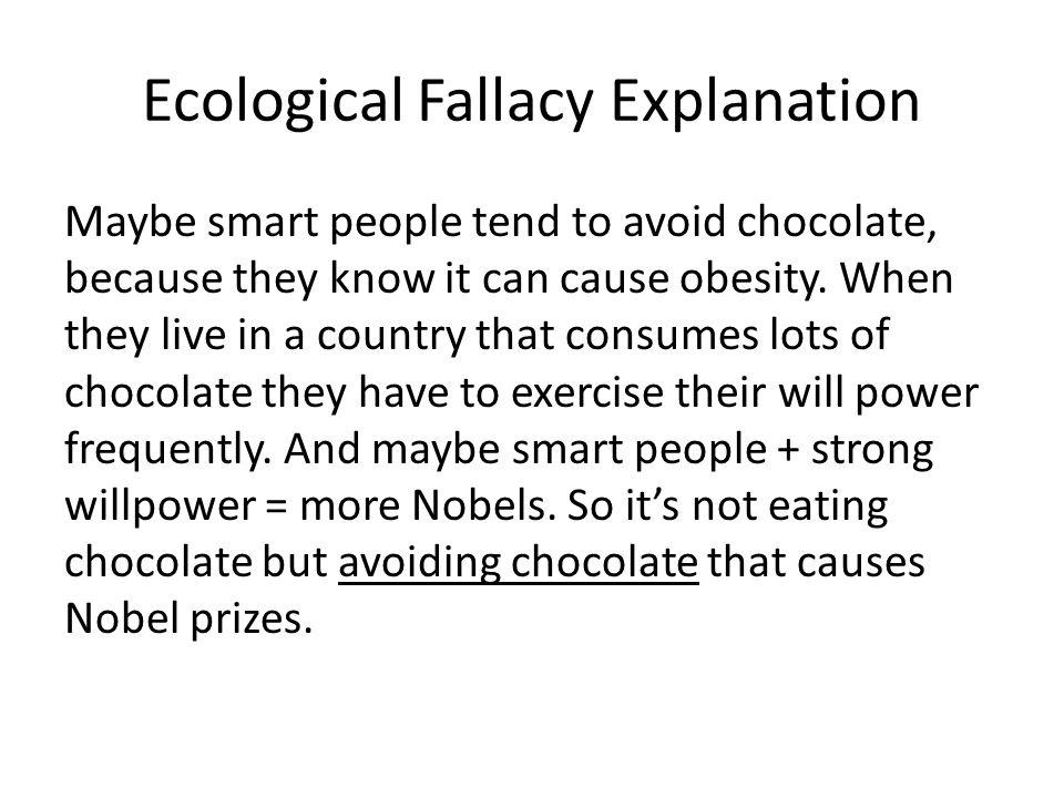 Ecological Fallacy Explanation