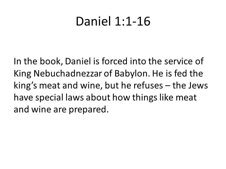 Daniel 1:1-16