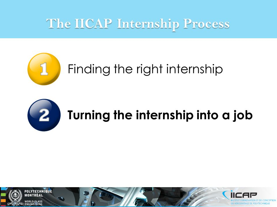 The IICAP Internship Process