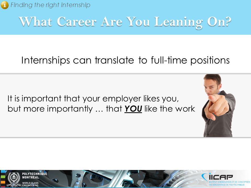 What Career Are You Leaning On