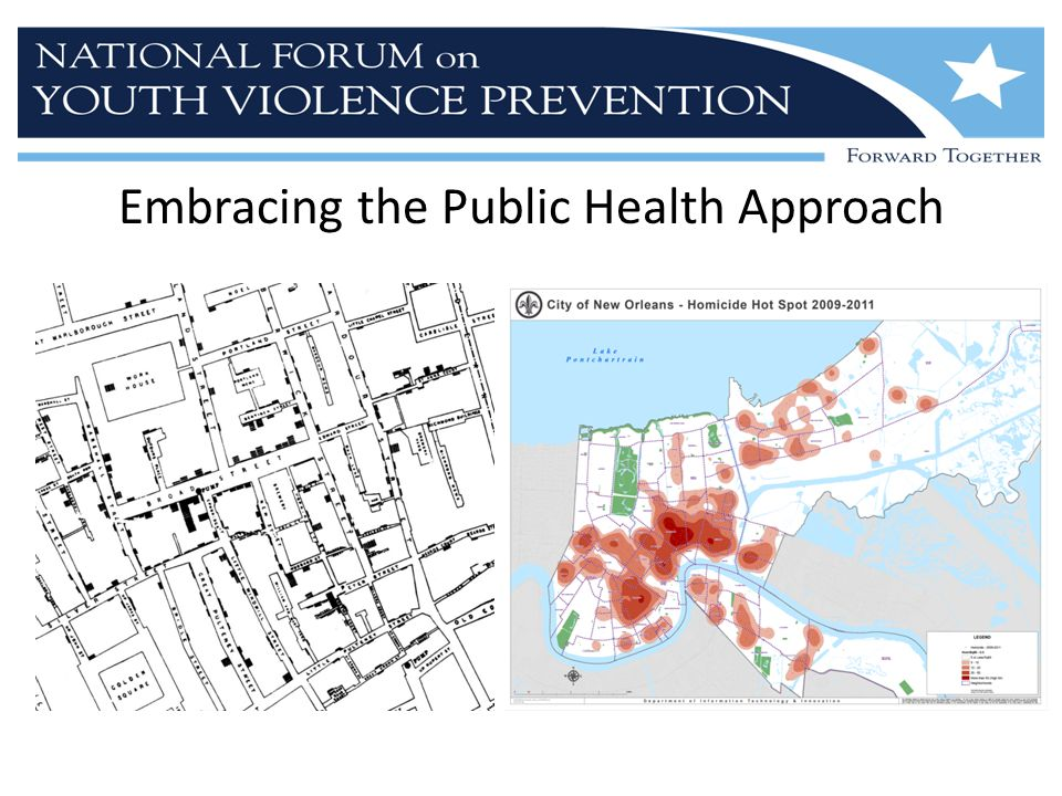 Embracing the Public Health Approach