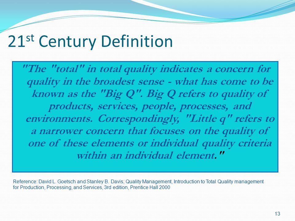 21st Century Definition