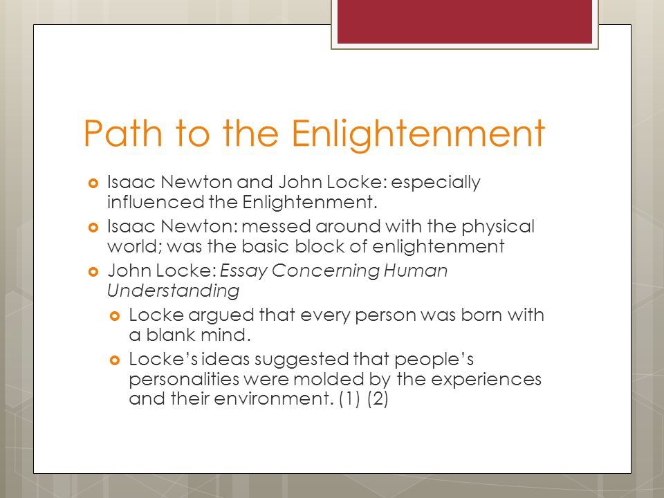 history the philosophies of enlightenment essay Read and learn for free about the following article: a beginner's guide to the age of enlightenment.