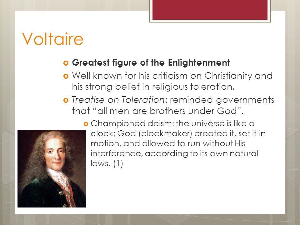 "essay on tolerance by voltaire Brought the question of religious toleration to the forefront of political theory and   ""normally, students will be required to submit their course essays to turnitin com for a  voltaire, a treatise on tolerance (cambridge) isbn: 0521649692."
