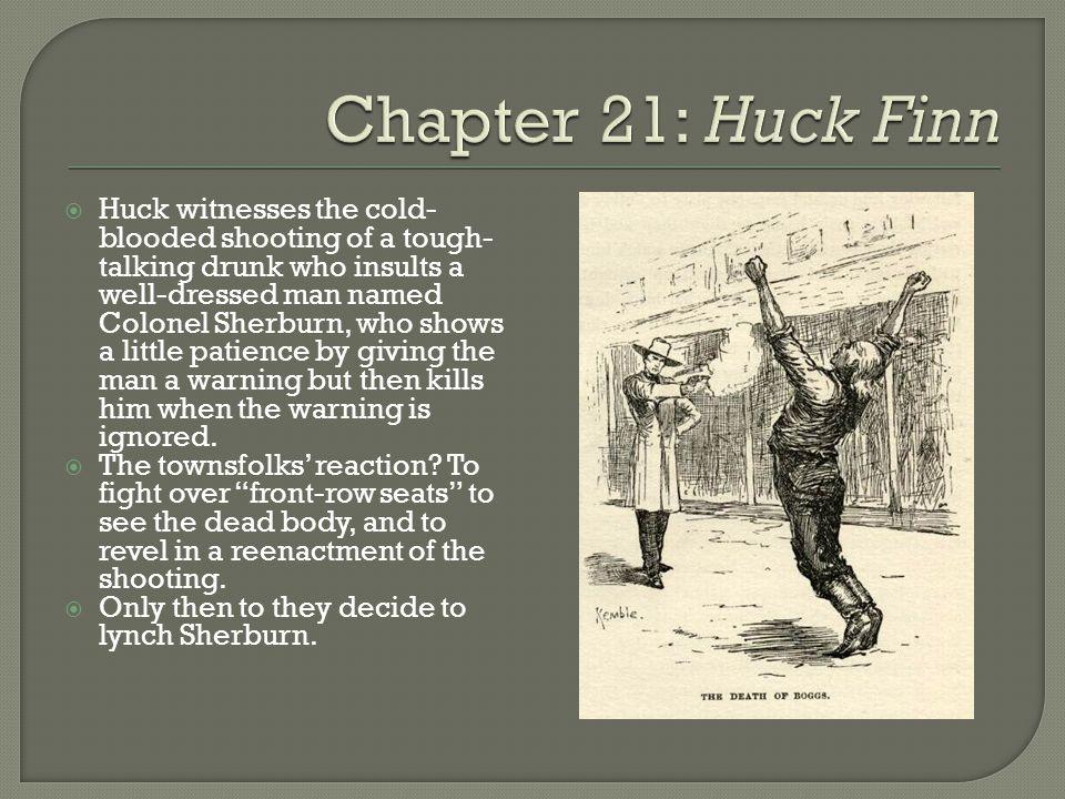 Chapter 21: Huck Finn