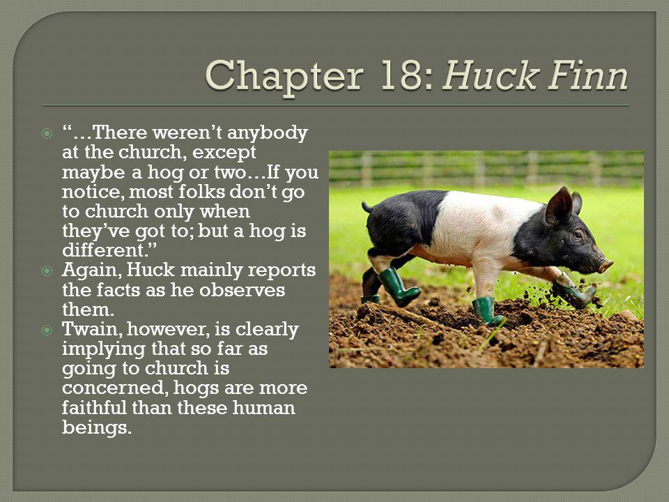 Chapter 18: Huck Finn