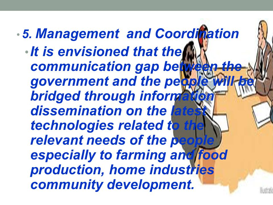 5. Management and Coordination