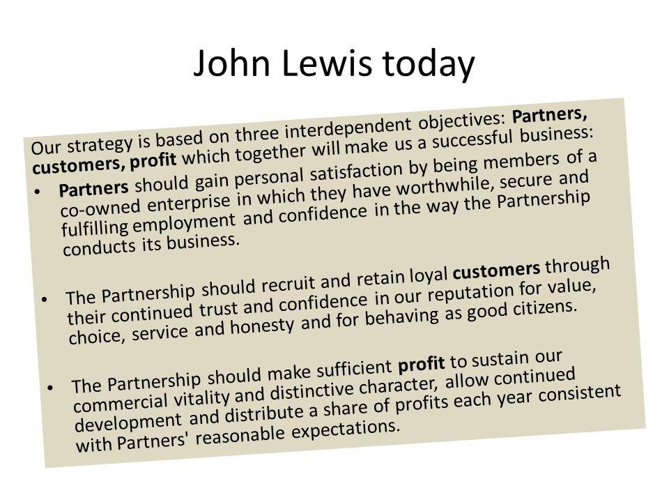 John Lewis today