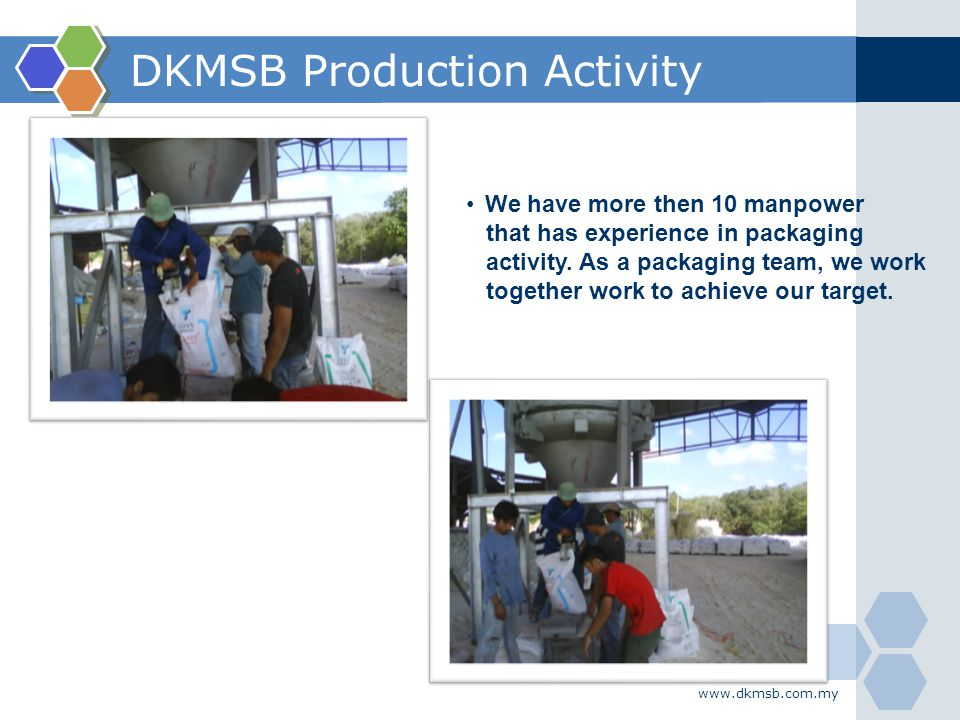 DKMSB Production Activity