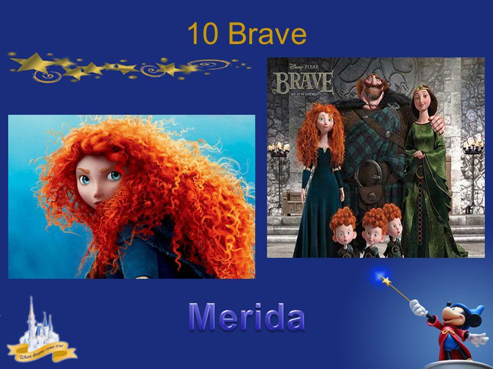 10 Brave Merida