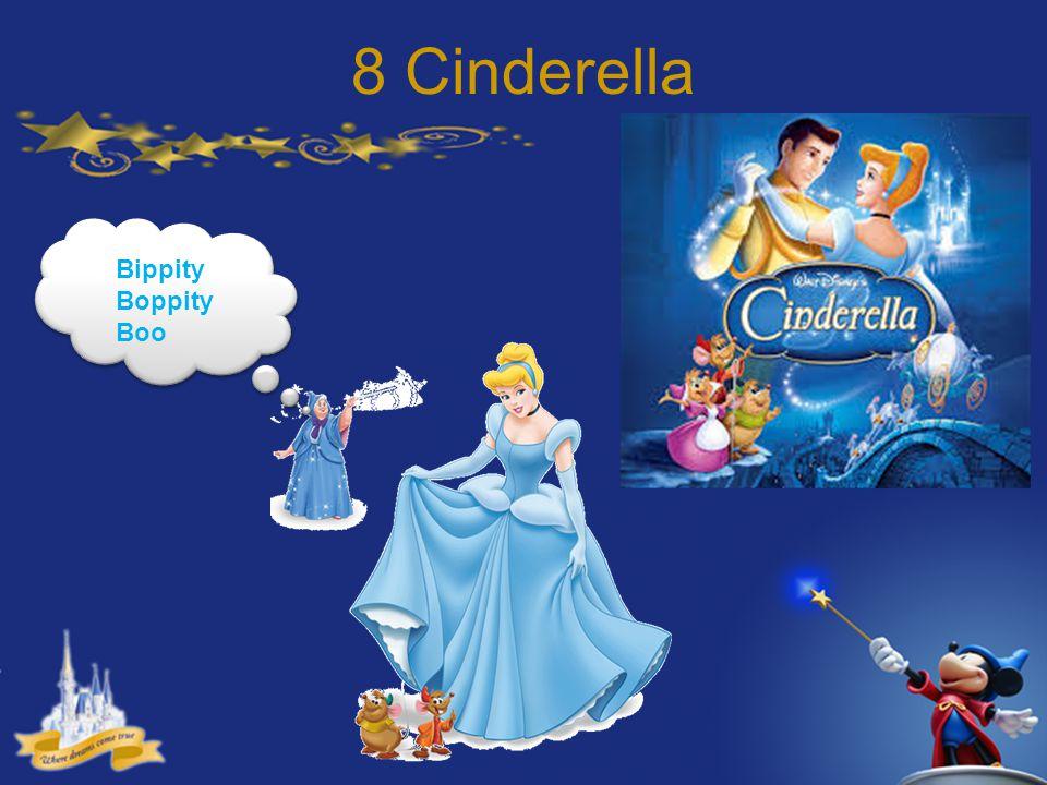 8 Cinderella Bippity Boppity Boo