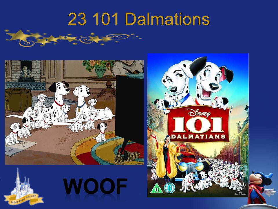 23 101 Dalmations Woof