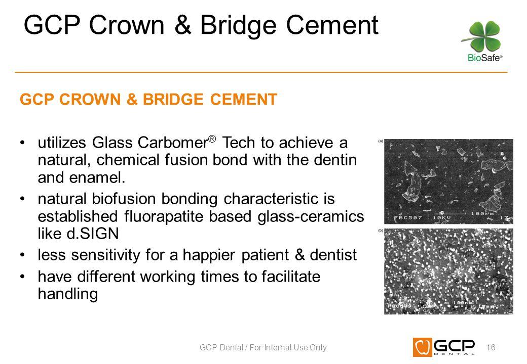 GCP Crown & Bridge Cement