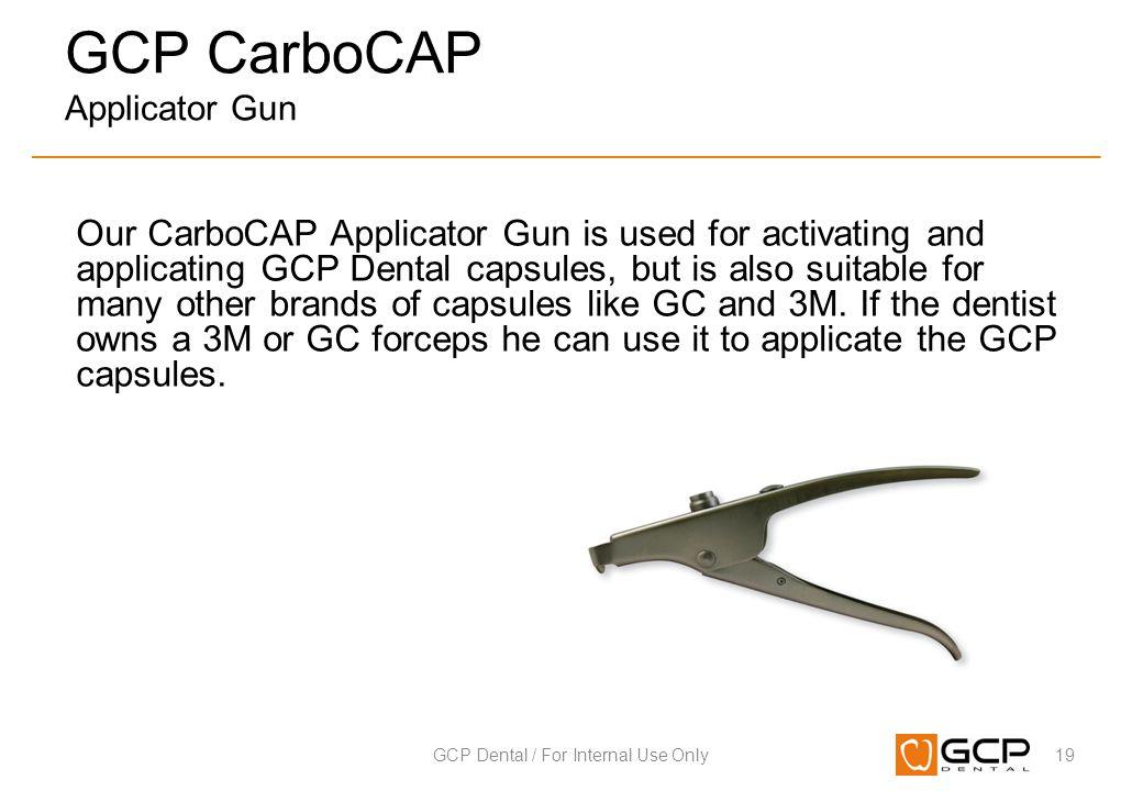 GCP CarboCAP Applicator Gun