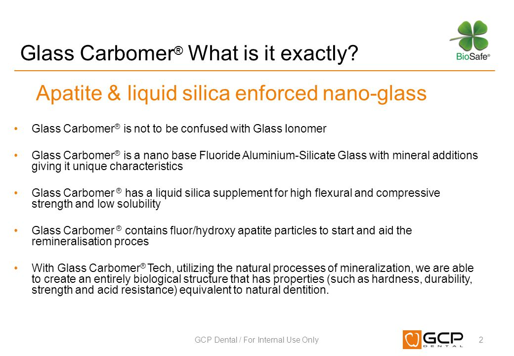 Glass Carbomer® What is it exactly