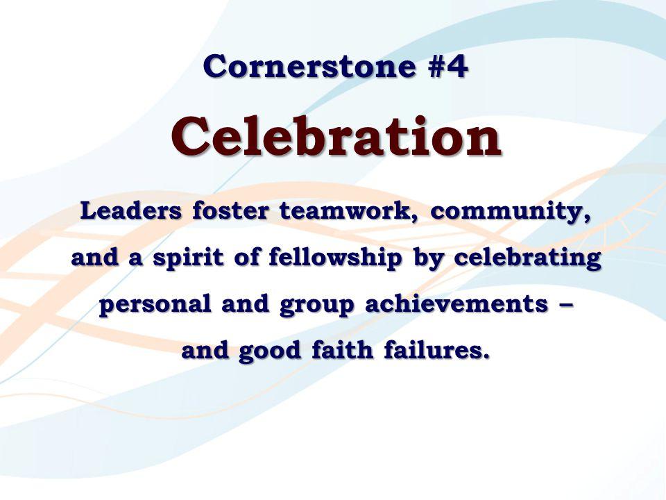 Celebration Cornerstone #4