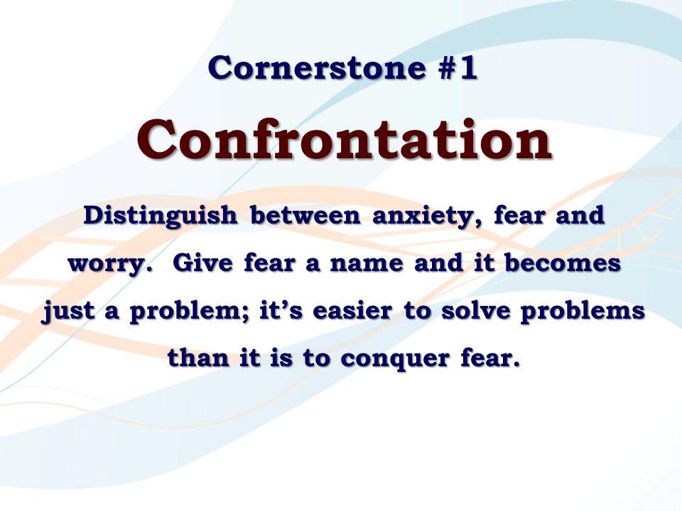 Confrontation Cornerstone #1