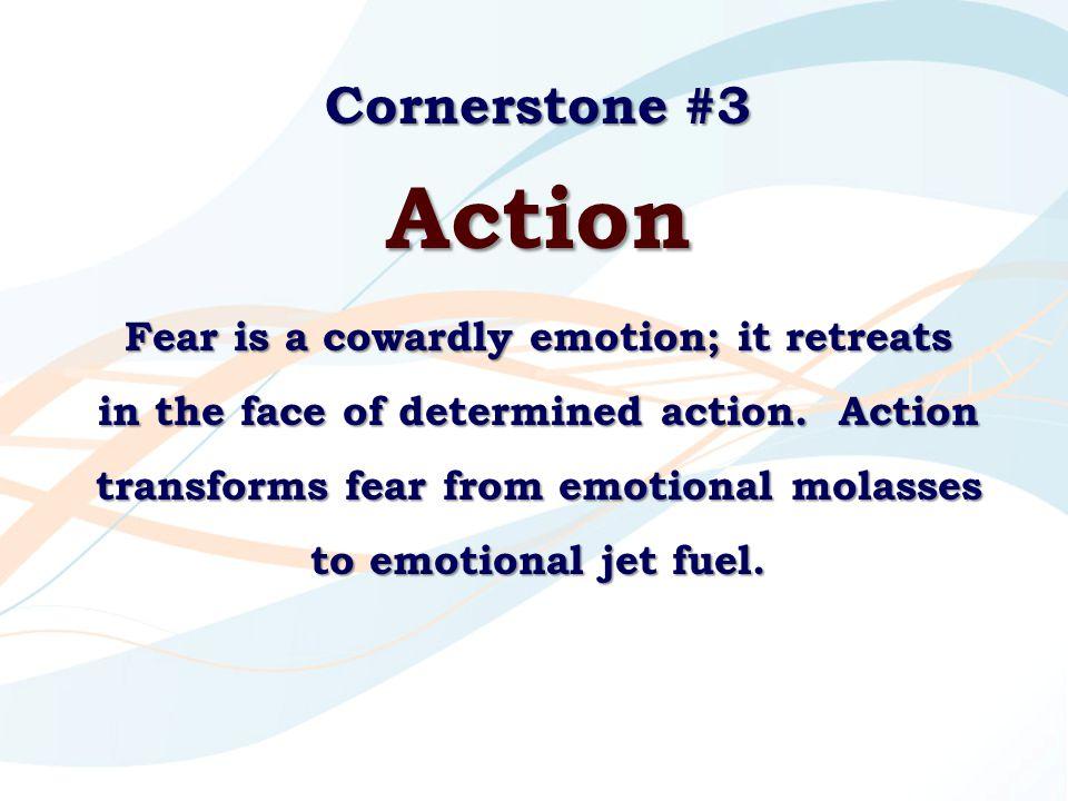 Cornerstone #3 Action.