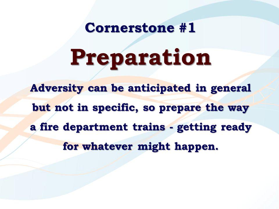 Preparation Cornerstone #1