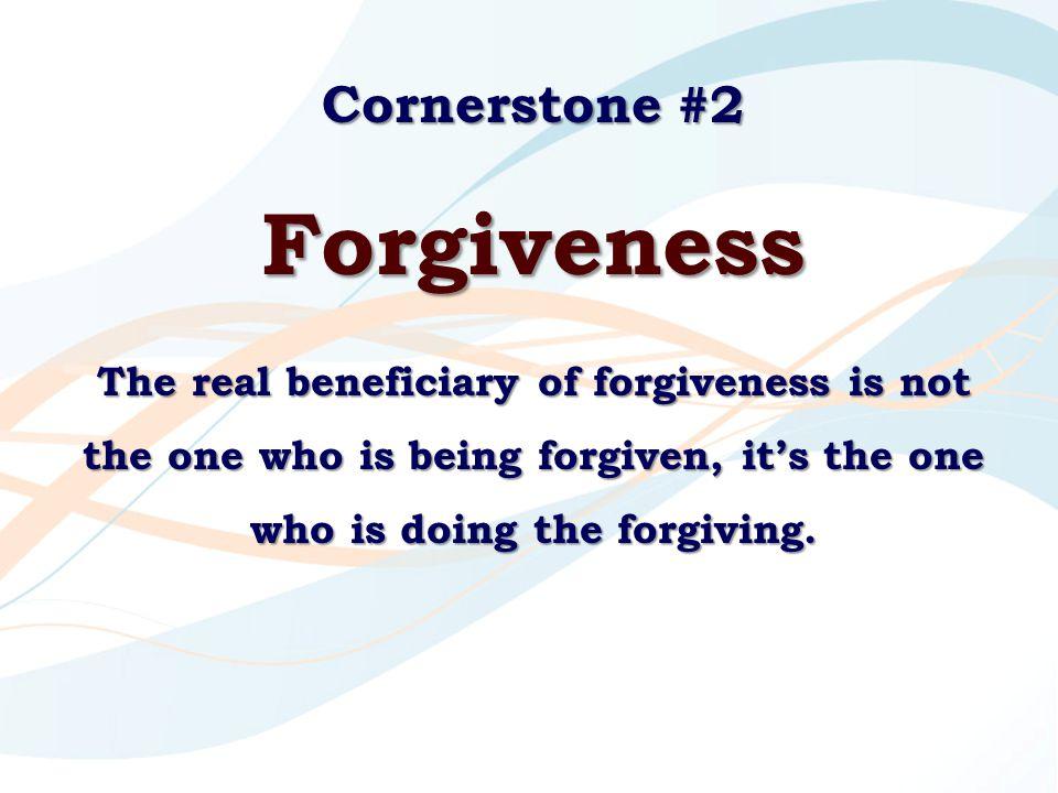 Forgiveness Cornerstone #2