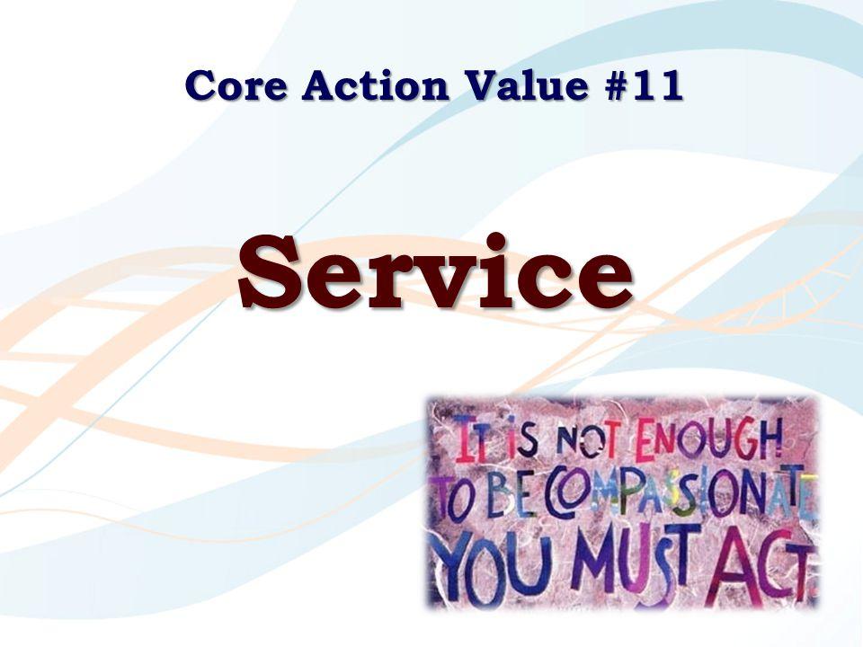 Core Action Value #11 Service