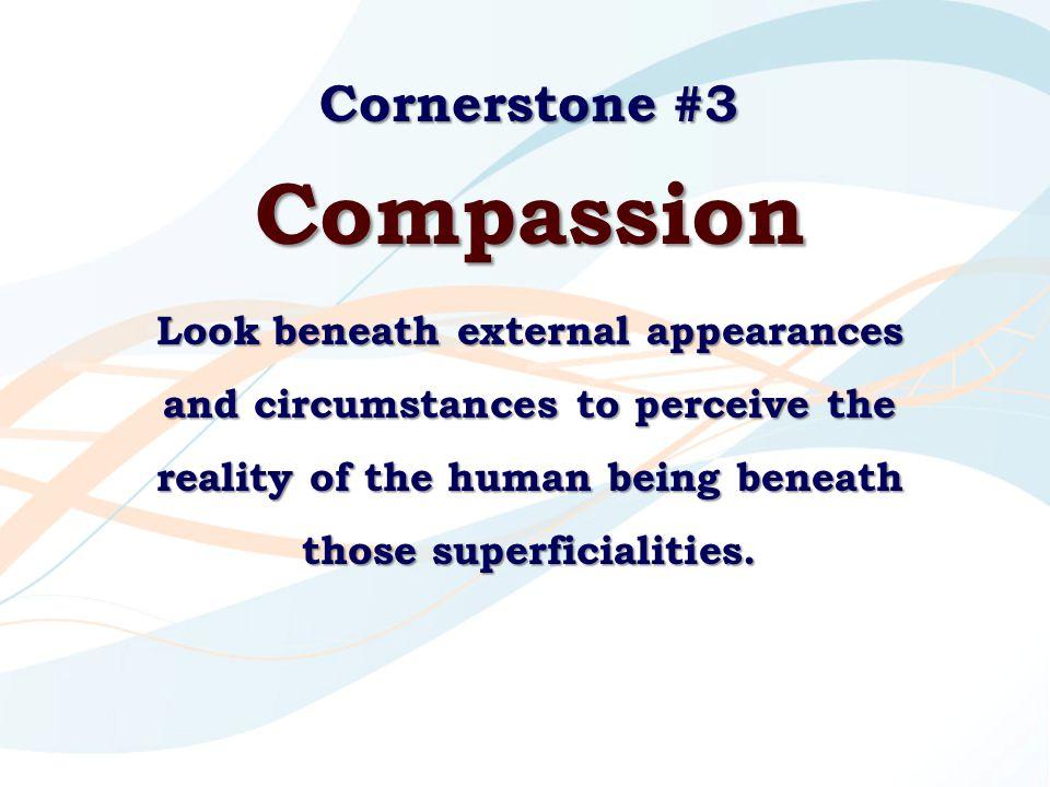 Compassion Cornerstone #3