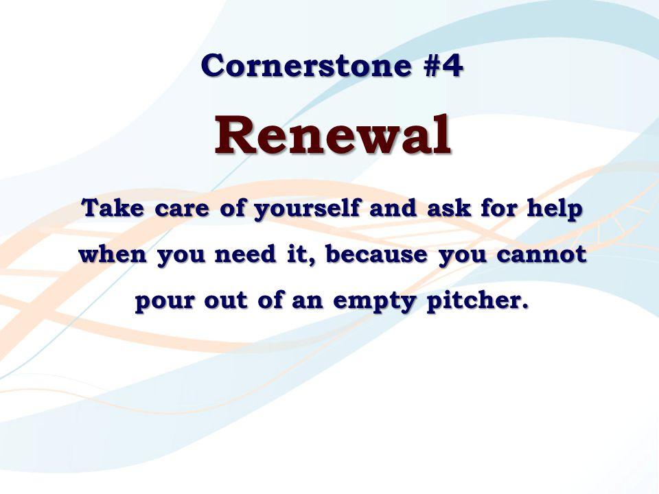 Cornerstone #4 Renewal.