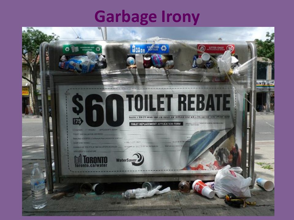 Garbage Irony