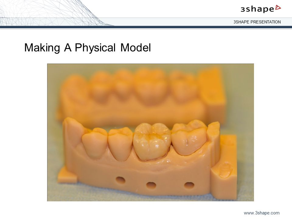 Making A Physical Model