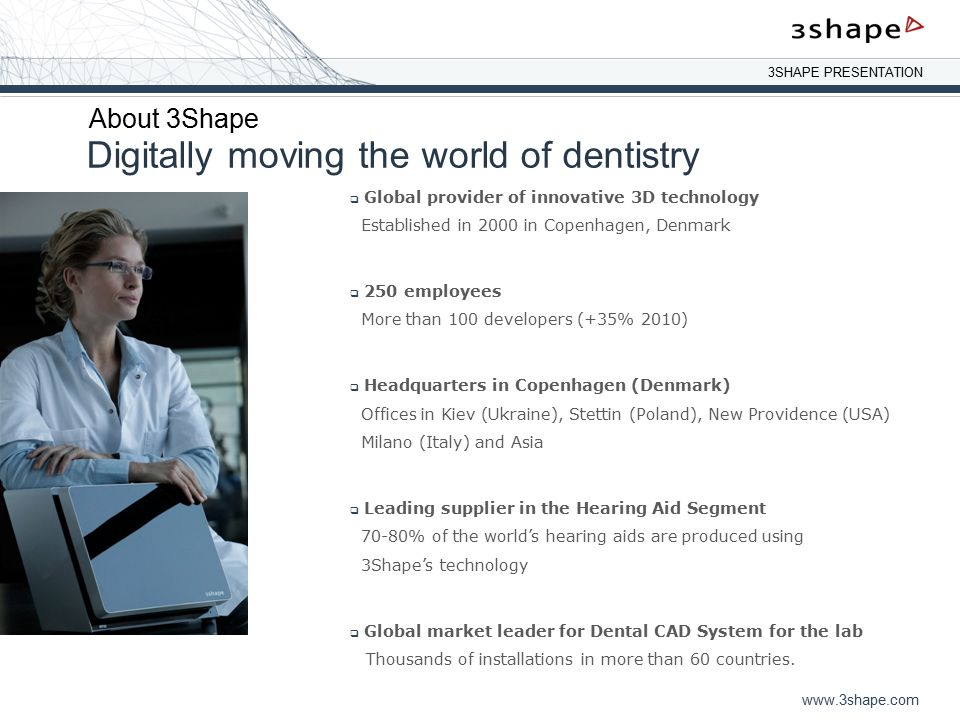 Digitally moving the world of dentistry