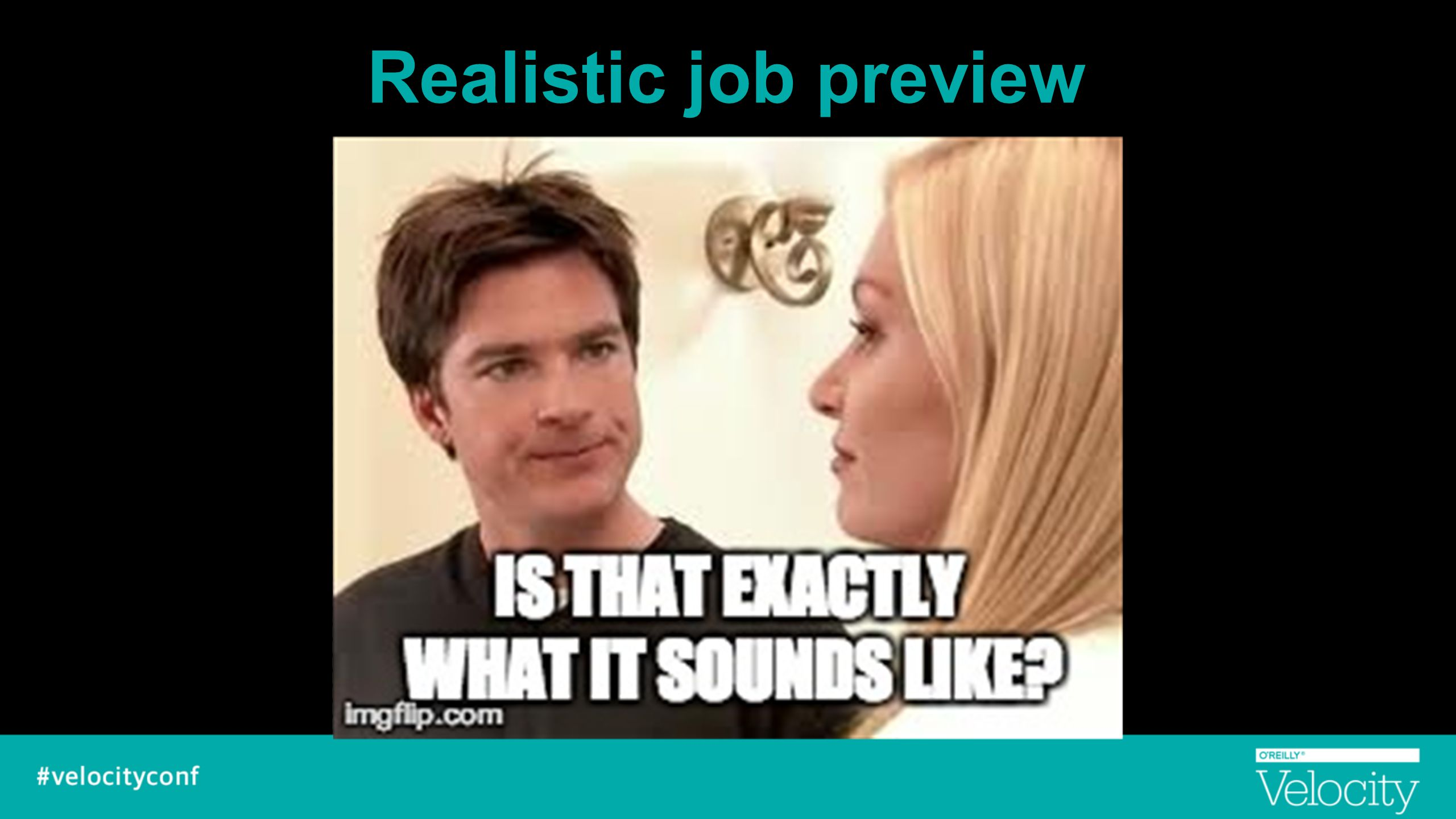Realistic job preview