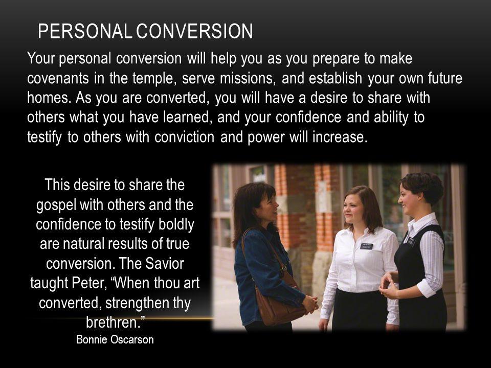 Personal Conversion