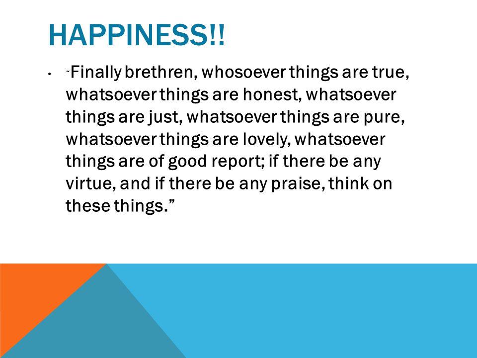 Happiness!!