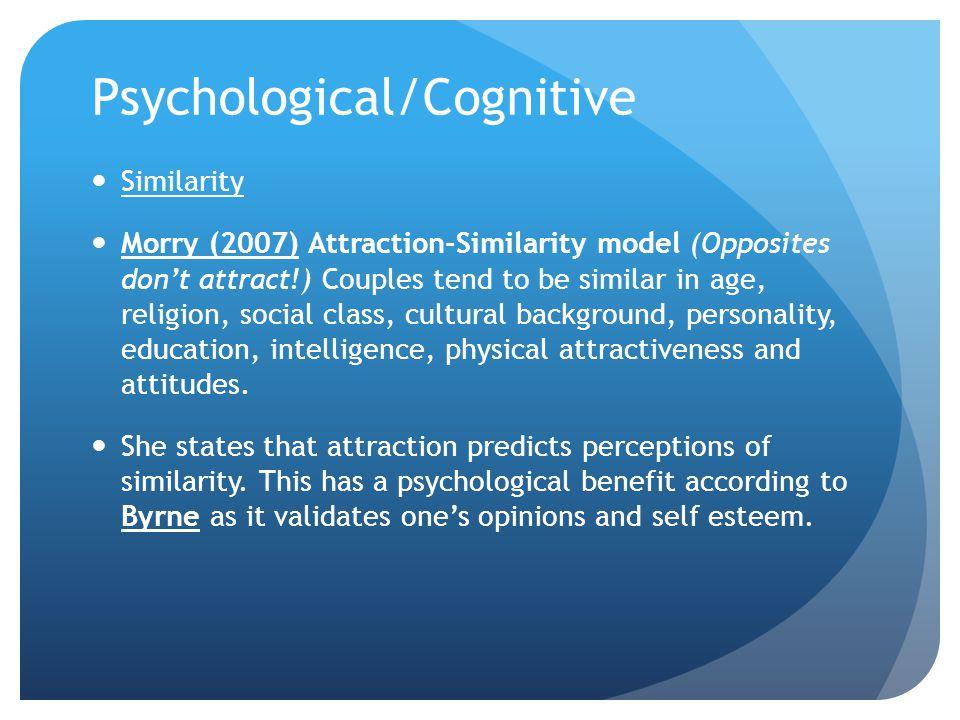 Psychological/Cognitive