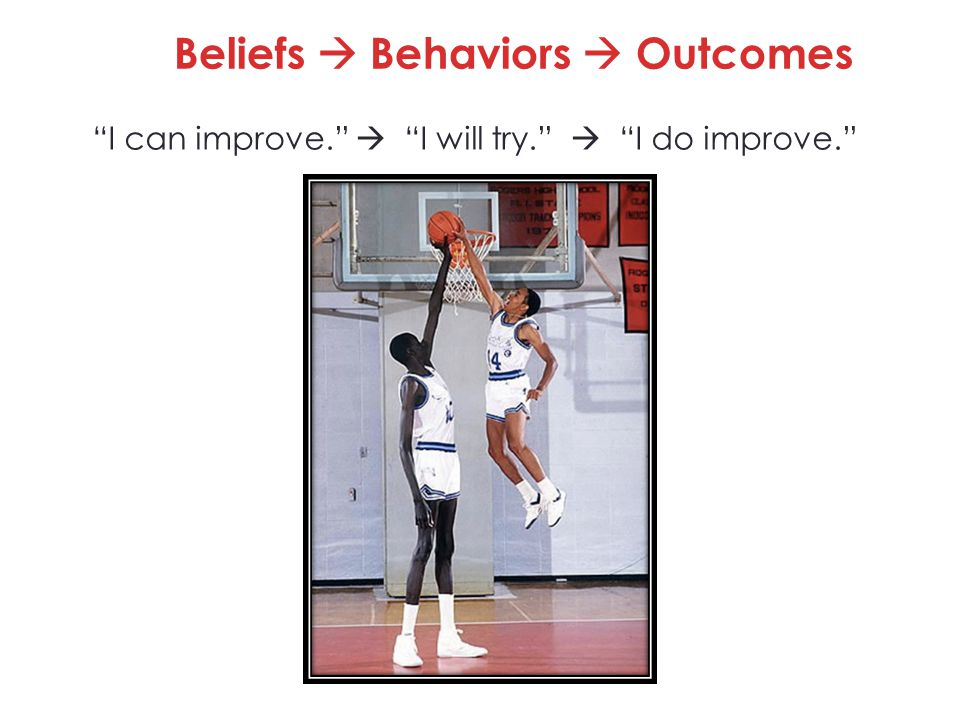 Beliefs  Behaviors  Outcomes