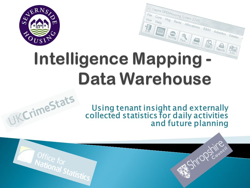 Intelligence Mapping - Data Warehouse