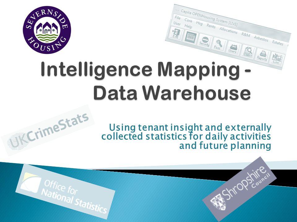 Intelligence Mapping - Data Warehouse