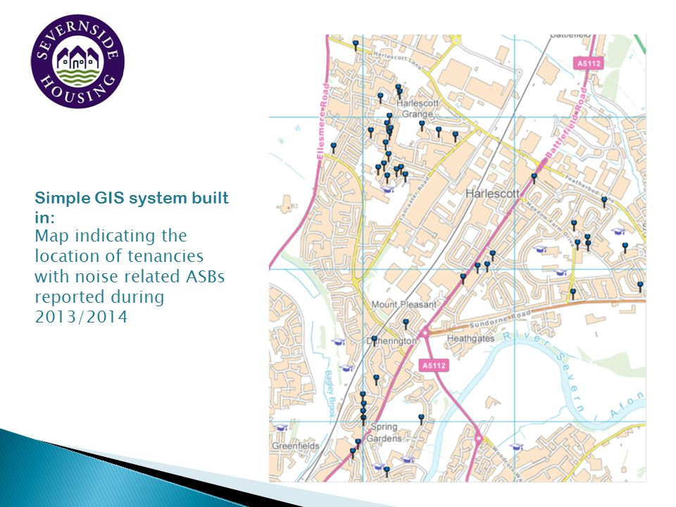 Simple GIS system built in: