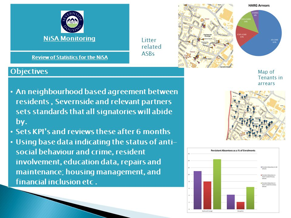 Review of Statistics for the NiSA