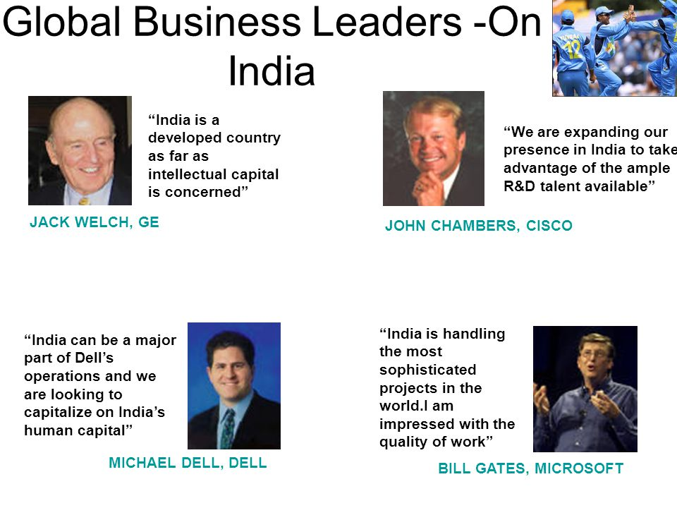 Global Business Leaders -On India