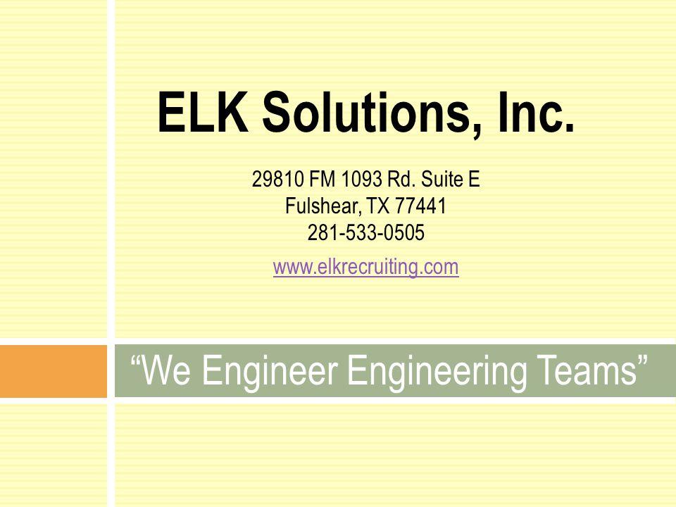We Engineer Engineering Teams