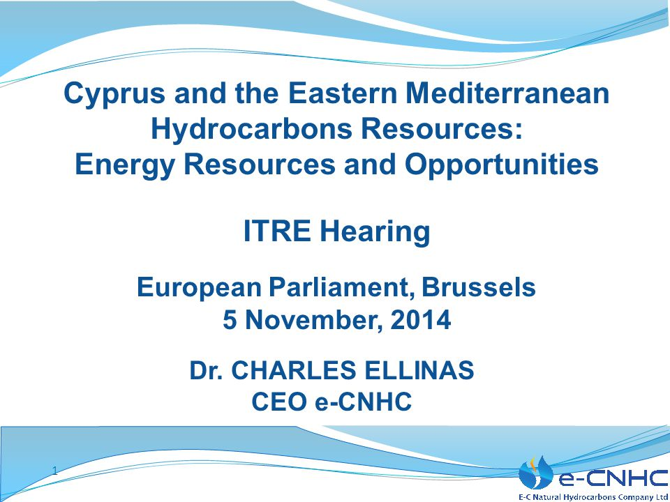 Cyprus and the Eastern Mediterranean Hydrocarbons Resources: