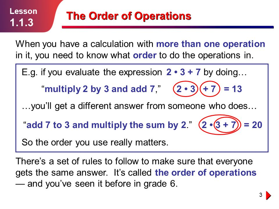 add 7 to 3 and multiply the sum by 2.