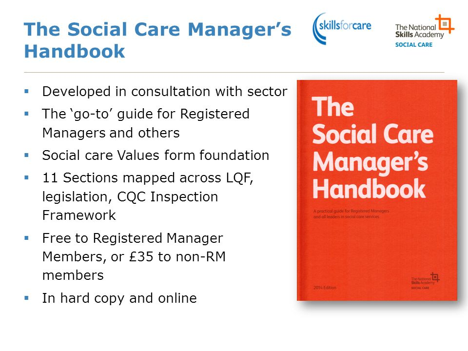 The Social Care Manager's Handbook