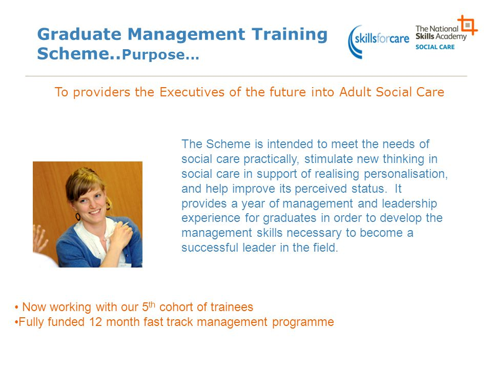 Graduate Management Training Scheme..Purpose...