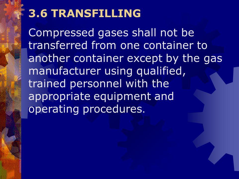 3.6 TRANSFILLING
