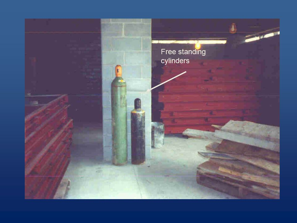 Free standing cylinders
