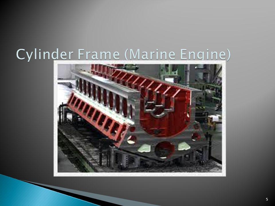 Cylinder Frame (Marine Engine)