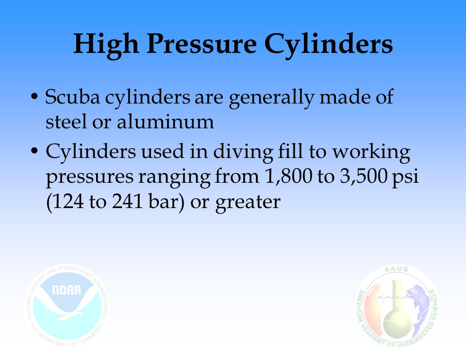 High Pressure Cylinders