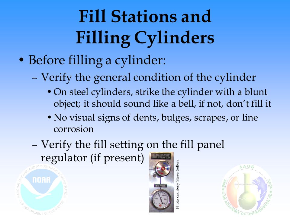 Fill Stations and Filling Cylinders